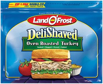 Land O' Frost Deli Shaved Oven Roasted Turkey 9 oz Zip Pak