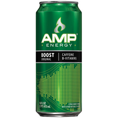 AMP® Energy Boost Original 16 fl. oz. Can