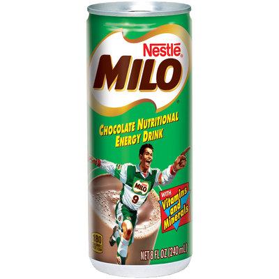 Nestlé MILO Chocolate Nutritional Energy Drink 8 fl. oz. Cans
