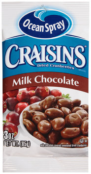 Ocean Spray® Craisins® Milk Chocolate Dried Cranberries