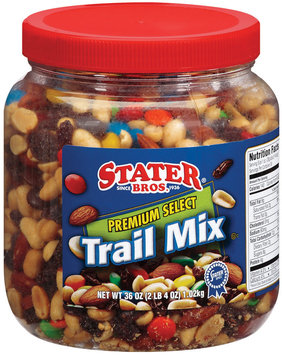 Stater Bros. Premium Select Trail Mix 36 Oz Plastic Jar