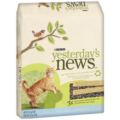 Purina Yesterday's News Fresh Scent Softer Texture Cat Litter 8 lb. Bag