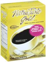 Natra Taste Zero Calorie 3.5 Oz Gold Sweetener 100 Ct Box