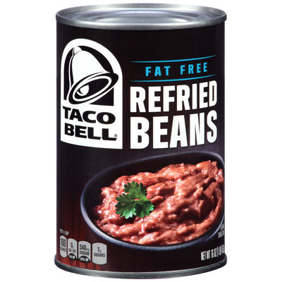 Taco Bell® Fat Free Refried Beans 16 oz. Can