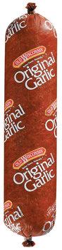 Summer Sausage 24 Oz Hand Tied Garlic Summer Sausage 1155