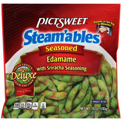 Pictsweet® Steam'ables® Edamame with Seasoned Sriracha 10 oz. Package
