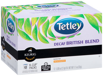Tetley® Decaf British Blend Black Tea K-Cup® Packs 12 ct Box