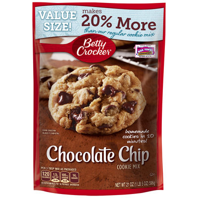 Betty Crocker® Chocolate Chip Cookie Mix 21 oz. Pouch