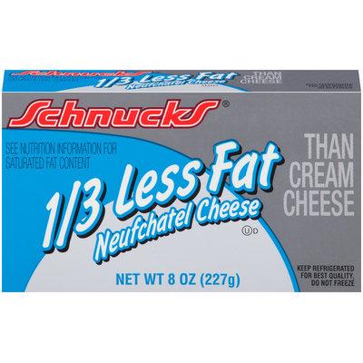 Schnucks® 1/3 Less Fat Neufchatel Cheese 8 oz. Box
