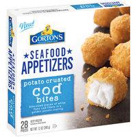 Gorton's® Seafood Appetizers Potato Crusted Cod Bites 12 oz. Box