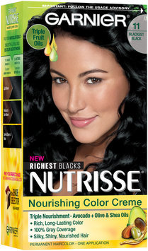 Garnier® Nutrisse® Nourishing Color Creme 11 Blackest Black 1 Kit Box