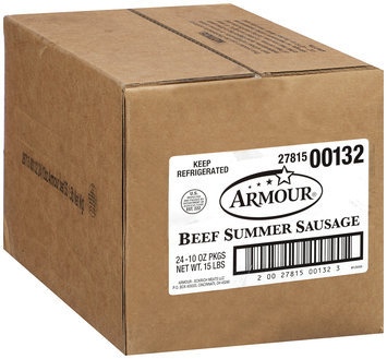 Armour® Beef Summer Sausage 10 oz. Package