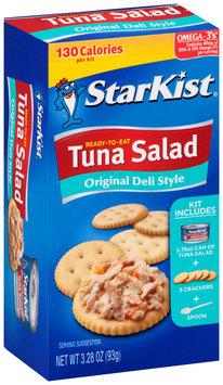 Starkist® Ready-To-Eat Original Deli Style Tuna Salad 3.28 oz. Box