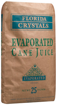 Florida Crystals Evaporated Cane Juice 25 Lb Bag
