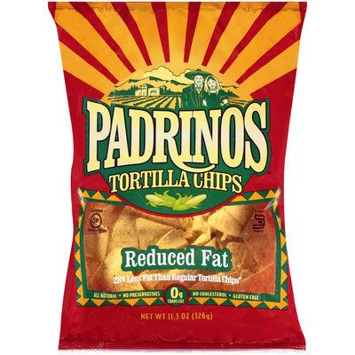 Padrinos® Reduced Fat Tortilla Chips 11.5 oz. Bag