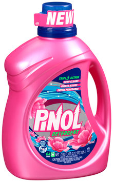 Pinol® Floral Liquid Laundry Detergent 100 fl. oz. Bottle