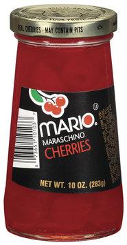 Mario Maraschino Cherries 10 Oz Jar