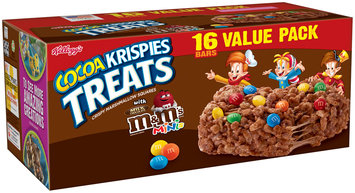 Kellogg's® Cocoa Krispies Treats™ with Milk Chocolate M&M's® Minis® 16-0.7 oz. Bars