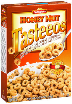 Springfield® Honey Nut Tasteeos® Brand Sweetened Oat Cereal With Real Honey & Natural Almond Flavor 12.25 oz Box