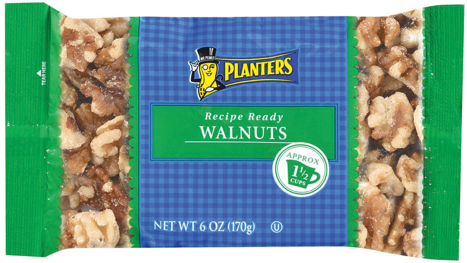 Planters  Walnuts 6 Oz Bag