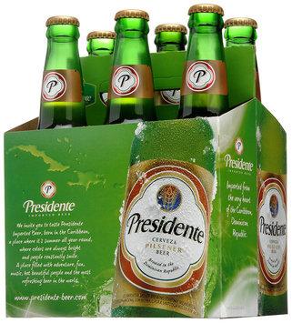 Presidente Imported Beer 6-12 fl. oz. Bottles