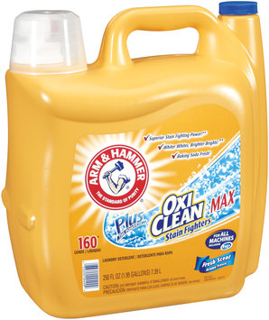 Arm & Hammer® Plus OxiClean® Max Fresh Scent Laundry Detergent 250 oz