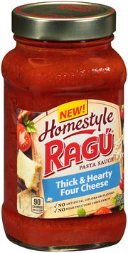 Ragu® Homestyle Thick & Hearty Four Cheese Pasta Sauce 23 oz. Jar