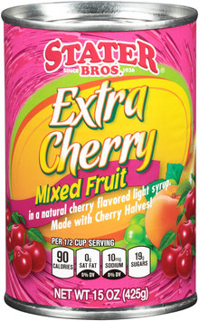 Stater Bros.® Extra Cherry Mixed Fruit 15 oz. Can
