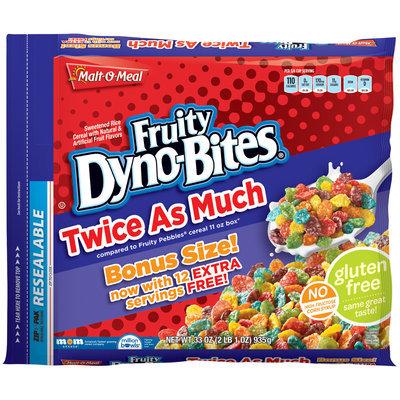 Malt-O-Meal® Fruity Dyno-Bites® Cereal 33 oz. ZIP-PAK