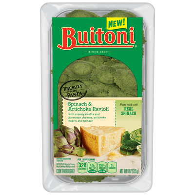 Buitoni® Spinach & Artichoke Ravioli 9 oz. Tray