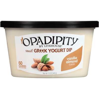 Opadipity™ By Litehouse® Vanilla Almond Sweet Greek Yogurt Dip 12 oz. Tub