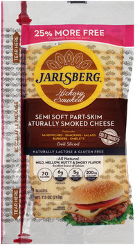 Jarlsberg® Hickory Smoked Semi Soft Part-Skim Naturally Smoked Cheese 7.5 oz. Pack