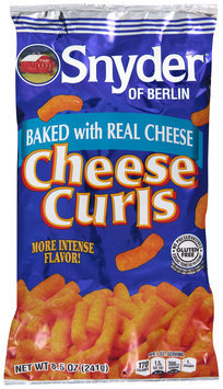 Snyder of Berlin® Cheese Curls 8.5 oz. Bag