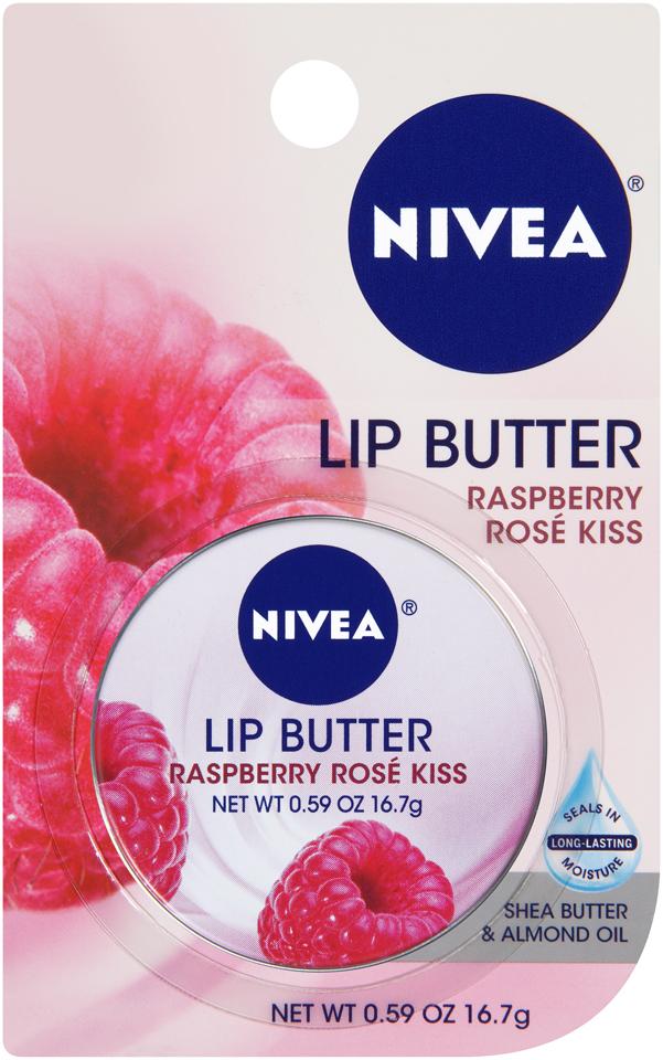 NIVEA Raspberry Rose Kiss Lip Butter