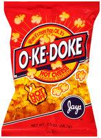 Jay's® O-Ke-Doke® Hot Cheese Flavored Popcorn