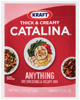 Kraft® Thick & Creamy Catalina® Dip, Dressing & Recipe Mix 1.0 oz. Packet