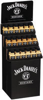 Jack Daniel's® Old No. 7® Honey Dijon/Horseradish/Classic Mustard 36 ct Corrugated Display