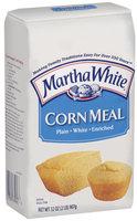 Martha White Plain White Enriched Corn Meal 32 Oz Bag