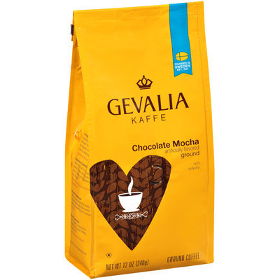 Gevalia Chocolate Mocha Ground Coffee 12 oz. Bag