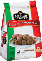 Cooked Perfect Italian Style Bite Size Meatballs, 26 oz