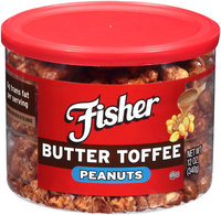 Fisher® Butter Toffee Peanuts 12 oz. Can