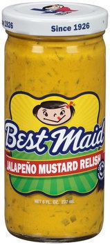 Best Maid® Jalapeno Mustard Relish 8 fl. oz. Bottle