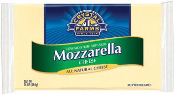 Crystal Farms Mozzarella Cheese 16 Oz Brick