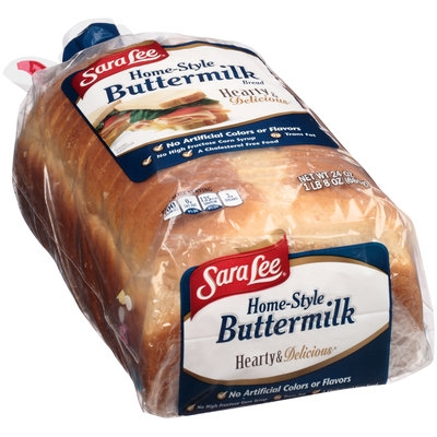 Sara Lee® Hearty & Delicious® Home-Style Buttermilk Bread 24 oz. Bag