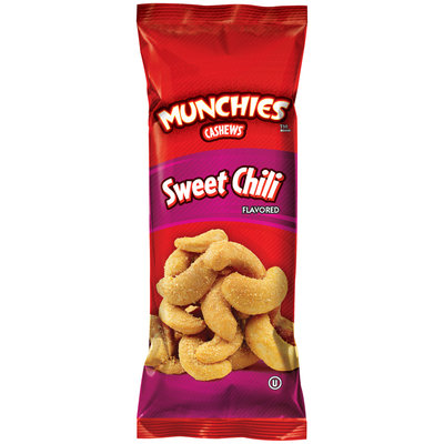 Munchies™ Sweet Chili Cashews 1.25 oz. Pouch