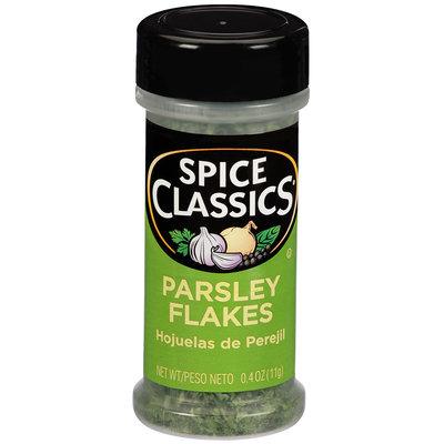 Spice Classics® Parsley Flakes 0.4 oz. Shaker