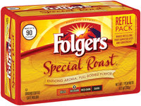 Folgers Medium Special Roast Refill Pack Ground Coffee 10.3 Oz Stand Up Bag