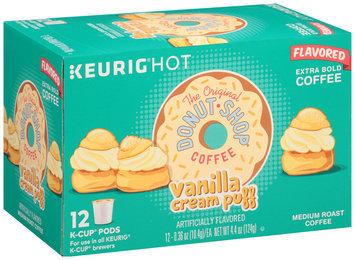 The Original Donut Shop® Vanilla Cream Puff Extra Bold Medium Roast Coffee 1 Box