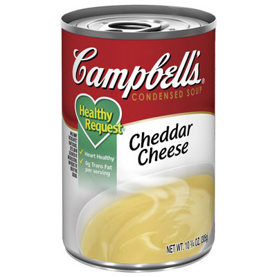 Campbell's Healthy Request Cheddar Cheese Condensed Soup 10.75 Oz Pull-Top Can