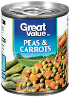 Great Value™ Peas & Carrots 8.5 oz. Pull-Top Can